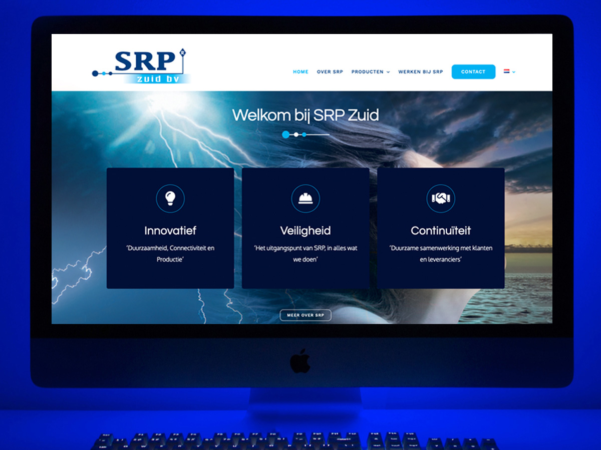 website srpzuid.nl